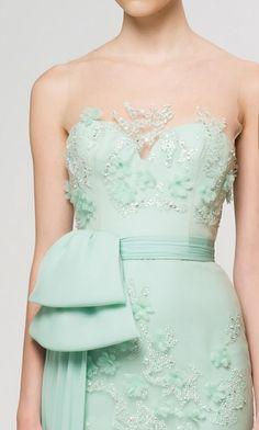 gorgeous mint dress