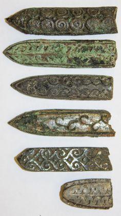 Viking belt decorations