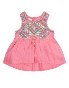 Renetta Embellished Swing Top | Pink | Monsoon