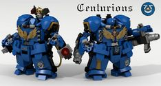 Playing Warhammer 40K With Lego