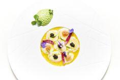 16.03 1º Jantar Gourmet . Ceviche de vieiras com citrinos, abacate e ovas de arenque by Michel Van Der Kroft | por Festival Gastronómico