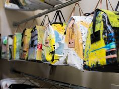 BARE: Sustainable Company Releases New Line of Wearable Art Handbags