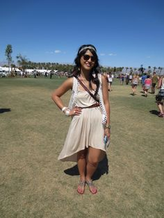 Toga party idea... accentuate with vintage accessories; add vest to bring out Hippie style.