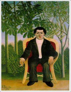 「ジョセフ・ブリュメルの肖像」1909年 原画サイズ(116×88.5cm)   所蔵:個人蔵
