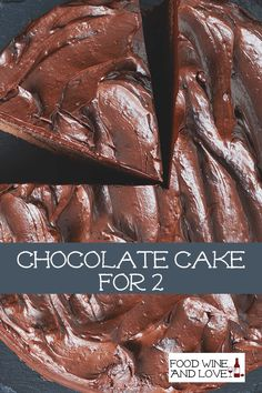 Delicious Chocolate Cake For Two #chocolate #cake #recipe #yummy #romantic #easyrecipes