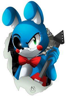 Toy Bonny (Sonic Style) by N-SteiSha25 on DeviantArt