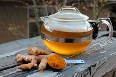 A Morning Warm-Up with Turmeric Tea, Fighting Cancer and Building Our Brains at the Same Time