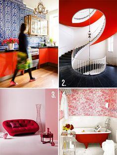 Tendenze casa - Un tocco di rosso è trendy. Bird Boxes, Design, Birdcages