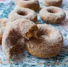 Carla's Confections: Baked Pumpkin Buttermilk Donuts