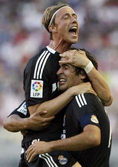 Guti y Raúl