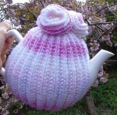 Hand knitted tea cosy cosies crochet Daffodil Bee cottage owl poppy cat frog | eBay