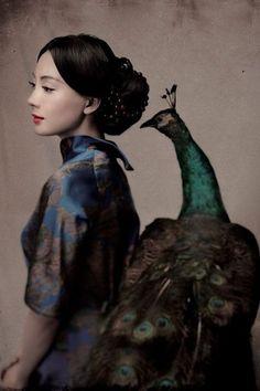 Elegant lady: Shu Chen