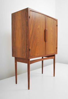 Torbjørn Afdal; Rosewood Cabinet for Bruksbro, c1955