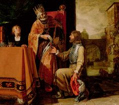 """King David Handing The Letter To Uriah"" by Pieter Lastman"