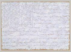 jasper johns: flag.
