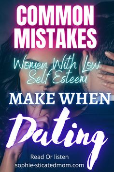 Are you one of these women with low self esteem wondering why you are having trouble in your dating life? If So find out how to rid yourself of you low self esteem tendencies and move to high self esteem. Dating and relationship advice for women struggling with self esteem. Kid Dates, Fun First Dates, Are We Dating, Dating Tips For Women, Self Esteem Issues, Low Self Esteem, Relationship Topics, Toxic Relationships, Dating Quotes
