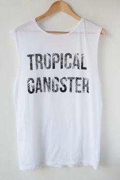Image of Samudra Tropical Gangster Tshirt