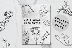 Blossom Font + EXTRAS by Chimerique on @creativemarket