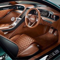 Beautiful car interior via @bella.fashionista