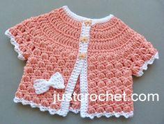 Free baby crochet pattern summer cotton top uk