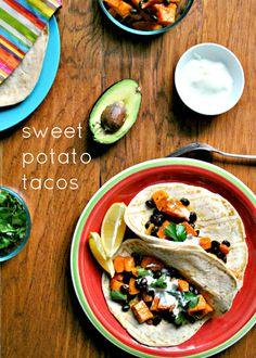 A Clove of Garlic, A Pinch of Salt: My New Fave -- Sweet Potato Tacos