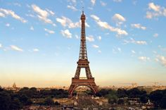 Make sure to climb to the top of the Eiffel Tower while vacationing in Paris!