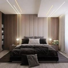 32 Fabulous Modern Minimalist Bedroom You Have To See - Everywhere you look you . 32 Fabulous Modern Minimalist Bedroom You Have To See – Everywhere you look you find things are b Scandinavian Design Bedroom, Bedroom Design, Bed Design, Ceiling Design Living Room, Modern Bedroom Interior, Interior Design Bedroom, Modern Minimalist Bedroom, Ceiling Design Bedroom, Luxury Bedroom Master