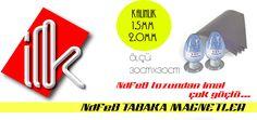 NdFeB Tabaka Magnetler Bu kategorideki tabaka magnetler çok güçlü çekim gücüne sahip olması amacı ile N35 magnet tozu ile imal edilmiştir
