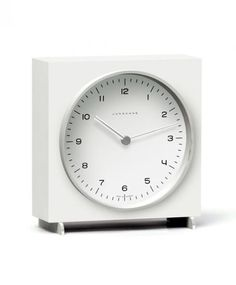 ユンハンス マックスビル 363/2210 00 置き時計  JUNGHANS テーブルクロック clock