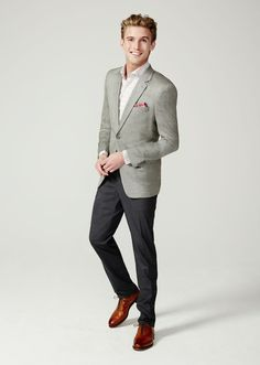 There's nothing wrong with him mixing things up, especially with awesome suit separates from MICHAEL Michael Kors