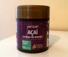 Feirinha Chic : Máscara Açaí - Spa do Cabelo Yenzah