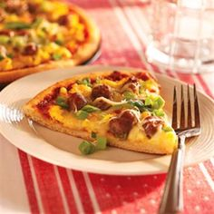 Have pizza for breakfast the right way with our easy recipe for Breakfast Sausage Pizza.