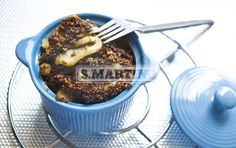 CRUMBLE PERE E CIOCCOLATO 1 prepared for Miscela Integrale per Torte e Biscotti (our whole Mix for cakes and biscuits), 130 g of butter, 1,2 Kg of pears, 3 spoons of Cacao Amaro da 75 g (our unsweetened cocoa powder), 3 spoons of chocolate chips. Pear and Chocolate Crumble. #dessert #crumble #pear #chocolate #ilovesanmartino