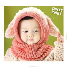 Cute Toddler Beanie (knitted)