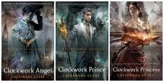 The Infernal Devices Series: Clockwork Angel, Clockwork Prince and Clockwork Princess by Cassandra Clare Clockwork Princess, Livros Cassandra Clare, Cassandra Clare Books, Clockwork Angel, The Infernal Devices, The Mortal Instruments, Ya Books, Good Books, Amazing Books