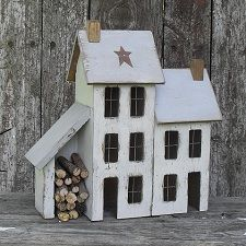 Lighted Country Houses and Primitive Saltbox Houses - noch viele weitere auf der Seite!!!