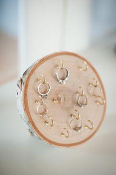 DIY Wood Round Ring Holder - Dwell Beautiful