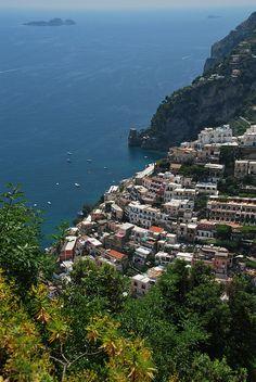 Positano by LellaViola, via Flickr