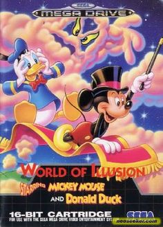 World of Illusion ~ starring Mickey Mouse & Donald Duck - Sega Megadrive / Genesis    ALAKAZAM !