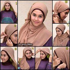 Tutorial Hijab Modern 16