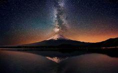 Monte Fuji. Japón