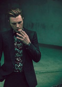 Michael Pitt by Mason Poole for Flaunt magazine.