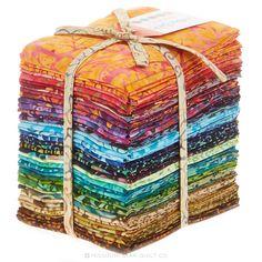 Nice multi colors pack - Catalina Batiks Fat Quarter Bundle - Moda Fabrics - Moda Fabrics