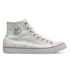 e72113f2eacd4d PF Flyers - Rambler - White Cute Sneakers