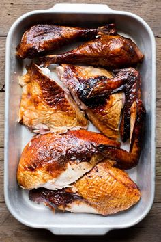 If you've been living in America for more than a few weeks, you know that Thanksgiving is synonymous with turkey.  Deep-frying a turkey may sound daunting, but many say it's worth the effort.  Smoking a turkey has also become popular in recent years.