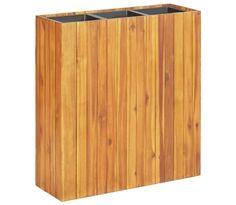 Wood, Outdoor Decor, Raised Garden Beds, Plastic Pots, Love Your Home, Wooden Garden, Outdoor Storage Box, Raised Beds, Acacia Wood