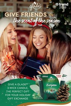 Bring the outside in, with a gift exchange winner - Glade® Icy Evergreen Forest Candle. With the glow, it makes a great winter centerpiece. Baked Salmon Recipes, Mashed Potato Recipes, Chicken Parmesan Recipes, Turkey Burger Recipes, Macaroni Recipes, Goulash Recipes, Banana Pudding Recipes, Diner Recipes, Eggnog Recipe