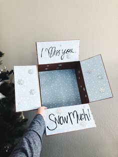 I miss you Snow much! Winter Deployment or relocation Care Package! #boyfriendgiftsideas