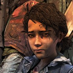 (screenshot by TheComicSunshine) Clementine Walking Dead, Mad Boy, Walking Dead Wallpaper, The Walking Dead Telltale, Marvel, Game Character, Best Games, Geek, Child