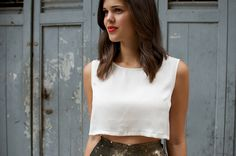 DIY silk crop top (2) by apairandaspare, via Flickr